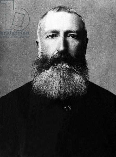 Portrait of Leopold II of Belgium (1835-1909), King of the Belgians from 1865 to 1909.