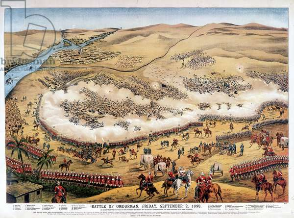 Battle of Omdurman, Friday, September 2, 1898.