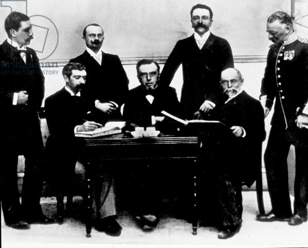 Pierre de Coubertin - First Olympic Committee - Olympic Games Athens, 1896