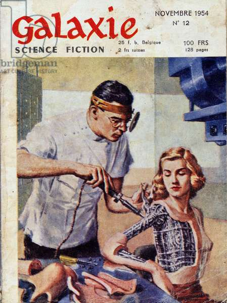 Doctor and robot woman - in Galaxy, Nov. 1954