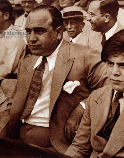 "Al Capone and his son - in """" Vu"""" Photography."