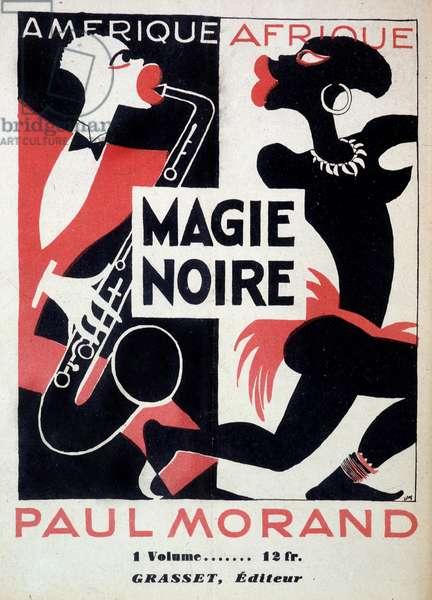 "Advertising for the book """" Black Magic"""" by Paul Morand - in """" Charivari"""" of 21/07/1928"