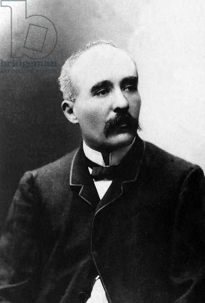 Portrait of Georges Benjamin Clemenceau (1841-1929), journalist and politician.