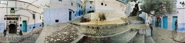 A 360 degree panoramic by Leonard de Selva, Morocco, 2004.
