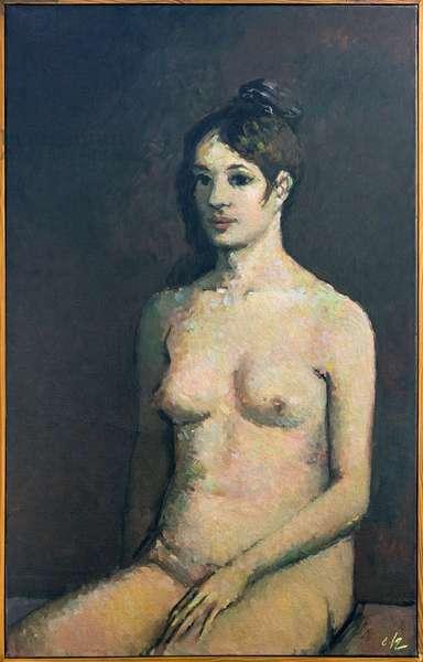 Nu assise au chignon (painting)