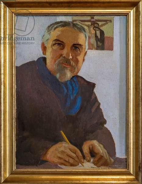 Self-portrait, 1938 (oil on cardboard)