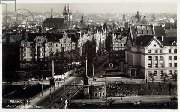 Prague. photography, early 20th century