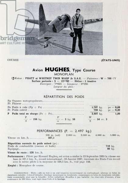 Howard Hughes: US crossing record; 1937.