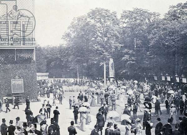 Pari Mutuel in Chantilly, 20th century