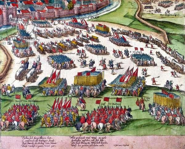 The Siege of Paris, 1590