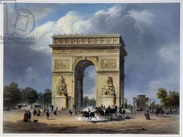 Arc de Triomphe - by Arnout, 1837