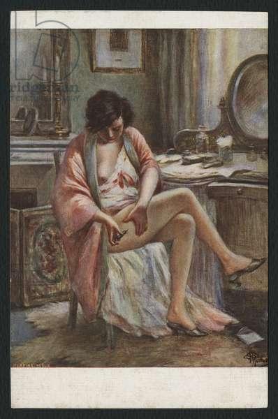 Consolation (oil on canvas)