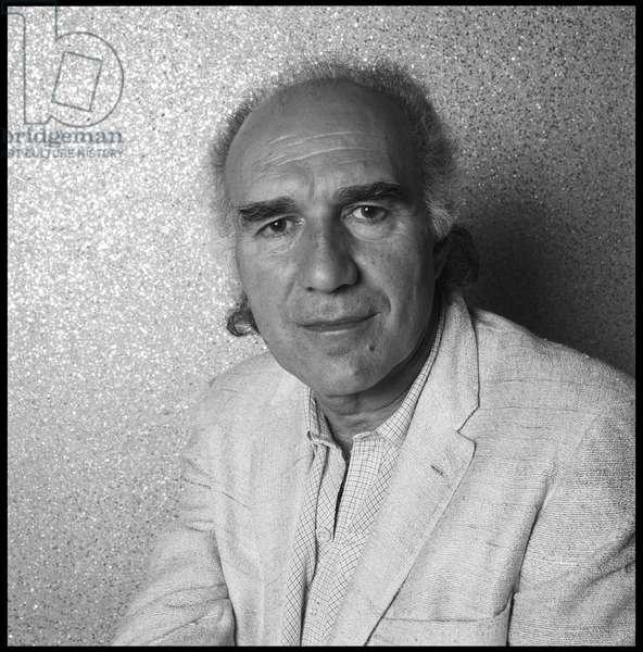 Portrait of Michel Piccoli, actor, 1984