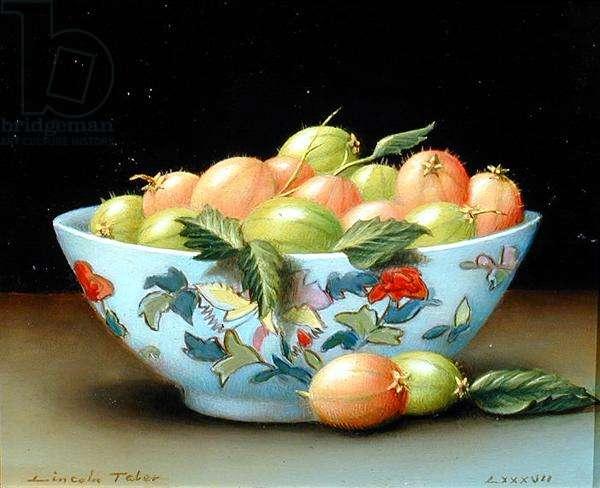 Gooseberries, 1987 (oil on canvas)
