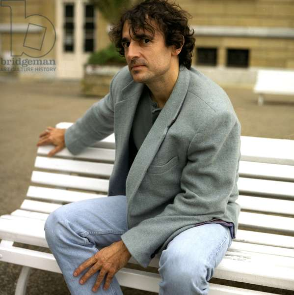 Cinema: Portrait of Albert Dupontel (born 1964), French comedian, actor and director. Photography.