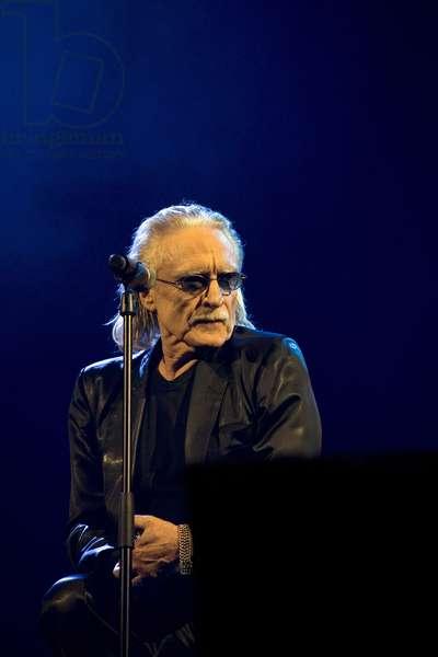 Music: Portrait of Christophe (Daniel Bevilacqua, born in 1945) French singer.