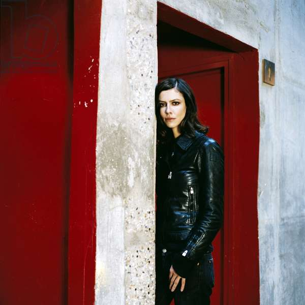 Cinema: Portrait of Anna Mouglalis, French actress born in 1978.