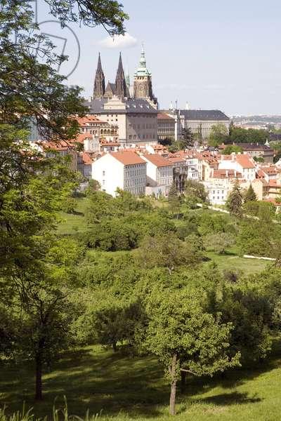 Strahov district in Prague, Czech Republic.