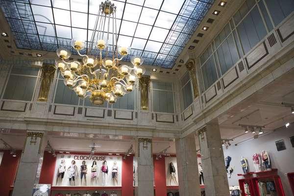 Shopping gallery on Na Prikope Avenue in Prague, Czech Republic.