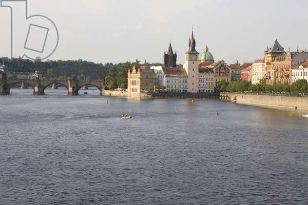 Charles Bridge in Prague, Czech Republic. Photography 2009