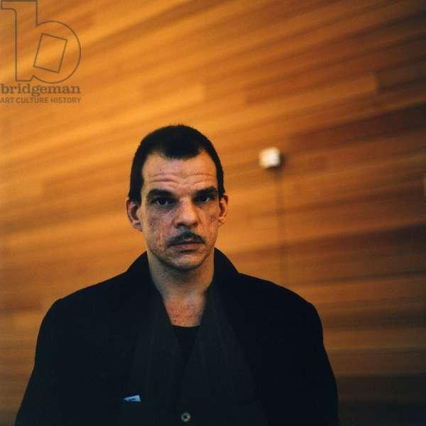 Cinema: Portrait of Denis Lavant (born 1961), French actor.