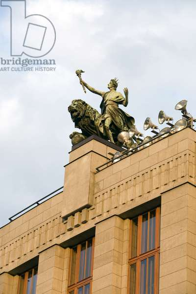 Wenceslas Square in Prague, Czech Republic. Photography 2009