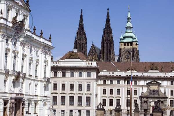 Prague Castle and Cathedrale Saint Guy Prague, Czech Republic. Photography 2009