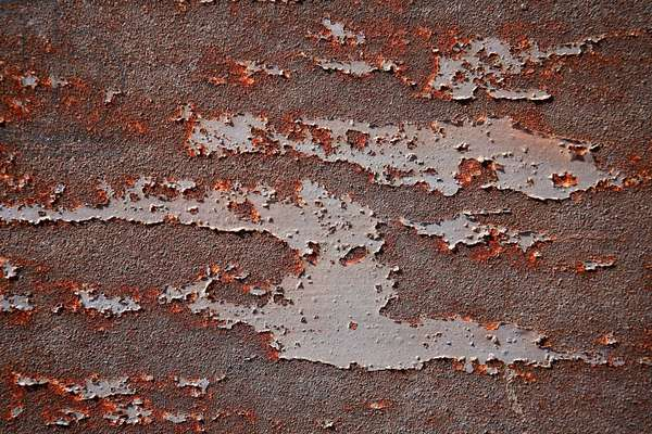 Time marks. Abstract art showing forms on a wall as a witness of passing time. Photography by Michel Lunardelli.
