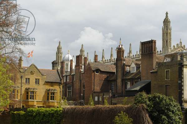 Clare College and King's College