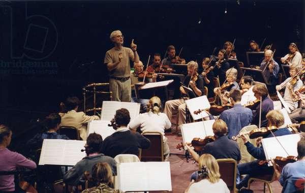 John Adams conducting BBC