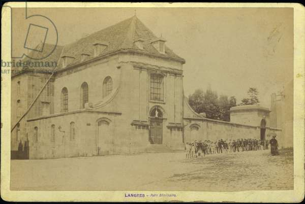 France, Champagne-Ardenne, Haute-Marne (52), Langres: le petit seminaire, 1880