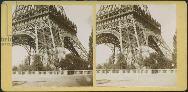 France, Ile-de-France, Paris (75): The Eiffel Tower, 1889