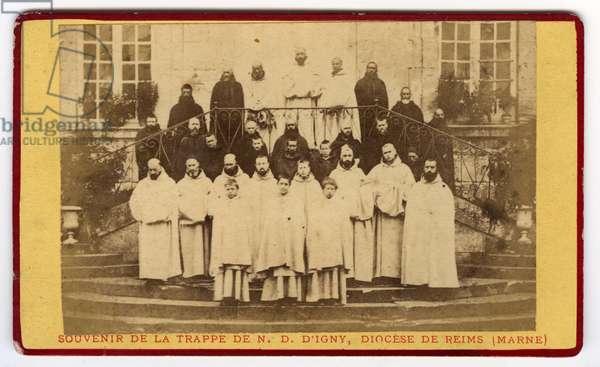 Reims, Marne (51), Champagne Ardenne, France, Les monines de la Trappe de Notre Dame d'Igny, 1870
