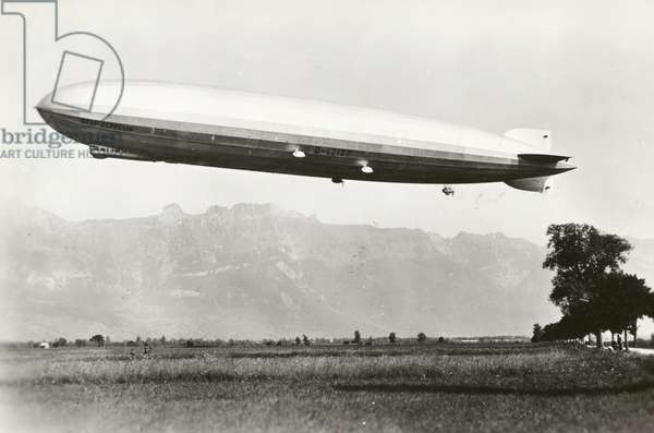 The Graf Zeppelin LZ127, 1928