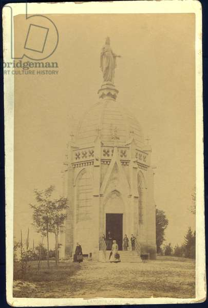France, Champagne-Ardenne, Haute-Marne (52), Langres: The votive chapel of Fort des Forches, 1865