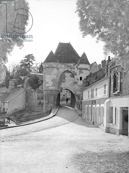France, Champagne-Ardenne, Haute-Marne (52), Langres: The gateway to the city, 1900