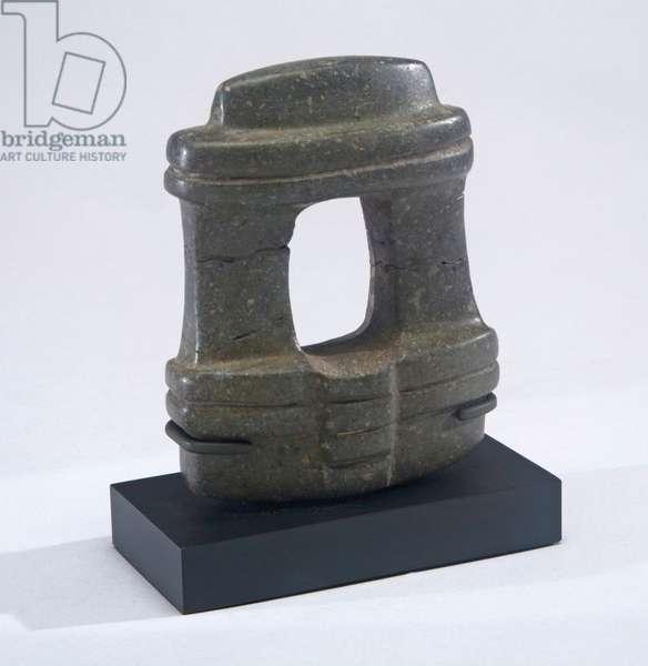Temple model, Central Mexico, c.300 BC-300 AD (stone)