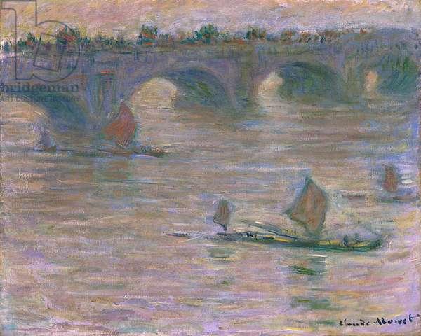 Waterloo Bridge, 1903 (oil on canvas)