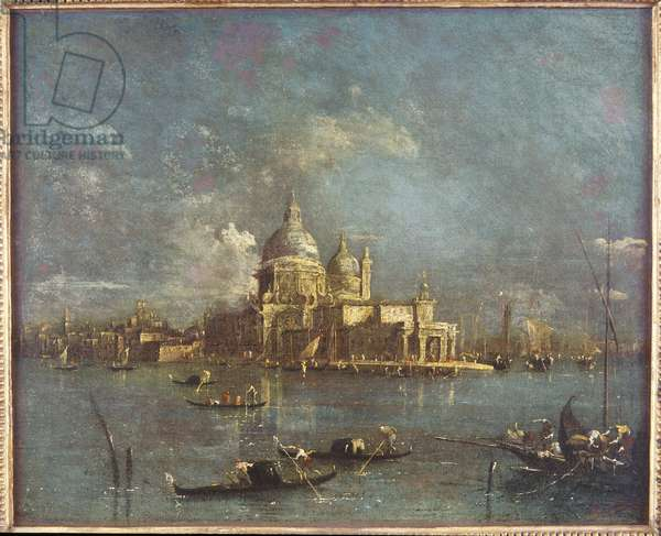 The Church of Santa Maria della Salute, c.1750 (oil on canvas)