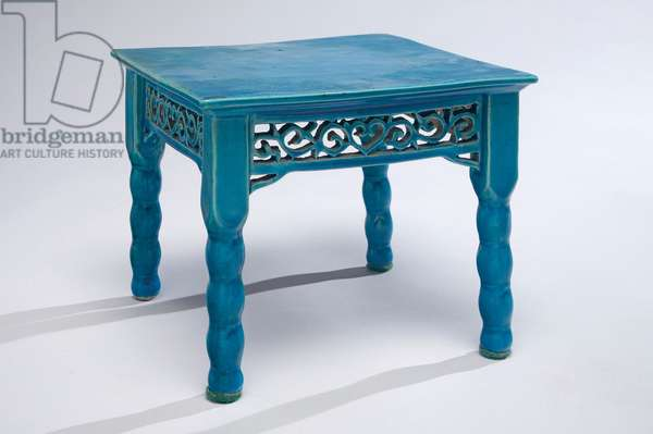 Table model, c.1795-1820 (porcelain with turquoise glaze)