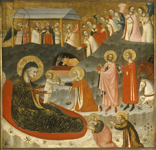 The Adoration of the Magi, c.1340 (tempera on wood)