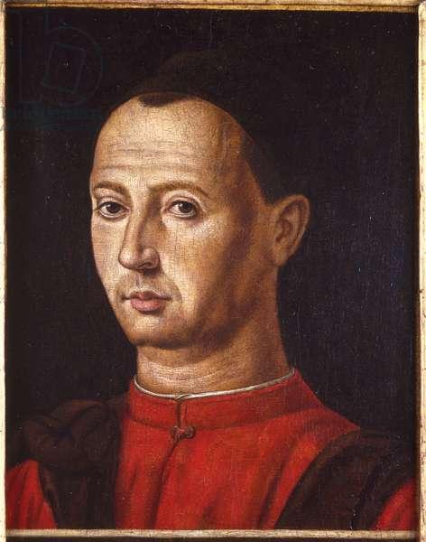 Portrait of Bartolomeo Cepolla, c.1470s (tempera on wood)