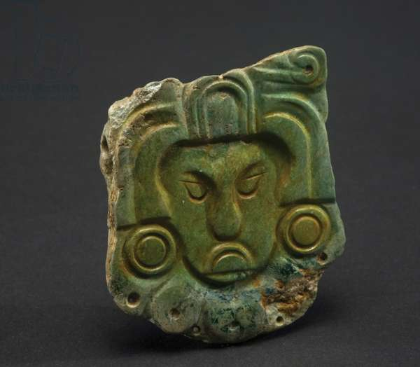 Plaque, Guatemala, c.600-900 (greenstone)