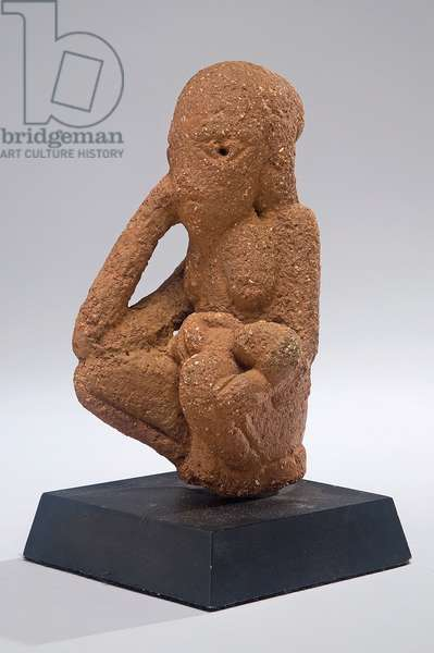 Mother and child, Nigeria, c.500 BCE-200 AD (pottery)