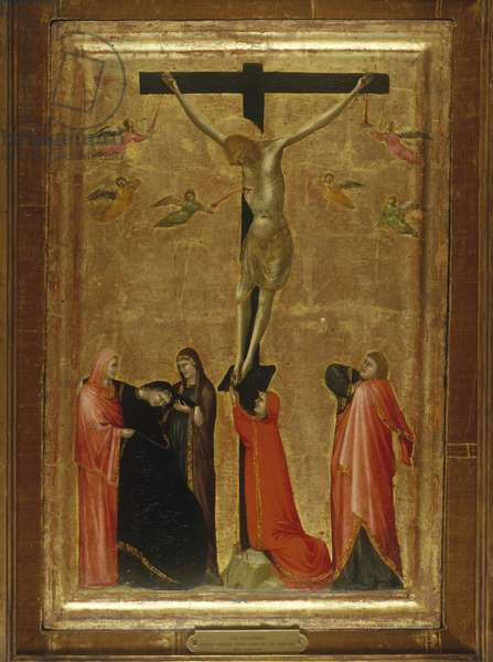 The Crucifixion, c.1330-50 (tempera on wood)