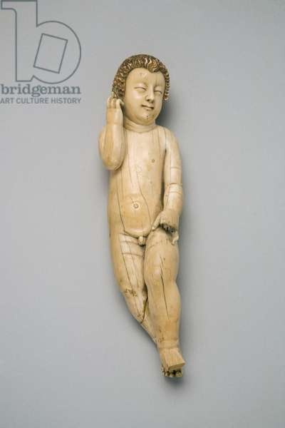 Christ Child (ivory and gilding)