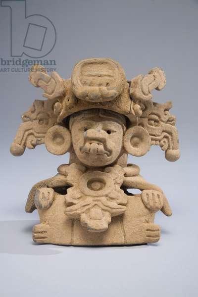 Funerary urn, Oaxaca, Central Mexico, c.600-800 (ceramic)