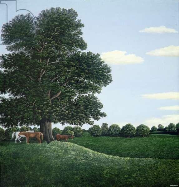 Horses Resting, 1980