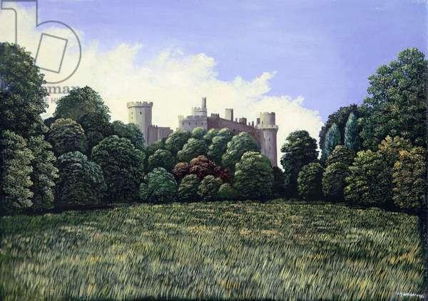 Warwick Castle, 1980 (panel)
