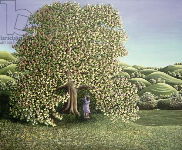 Chestnut Tree and Lovers, 1986